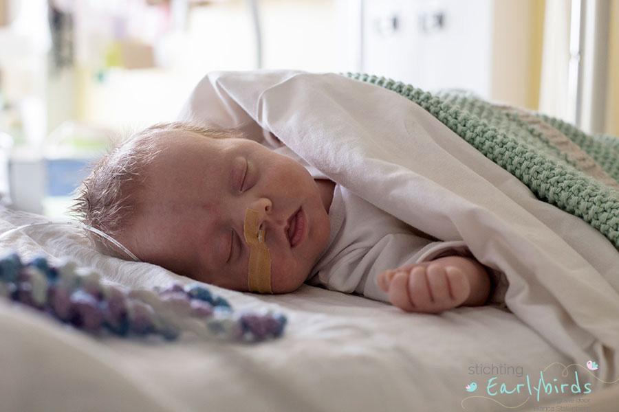 Stichting Earlybirds fotografie: baby Isa in Gouda