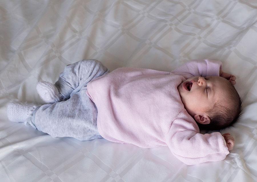 newborn reportage Delft baby