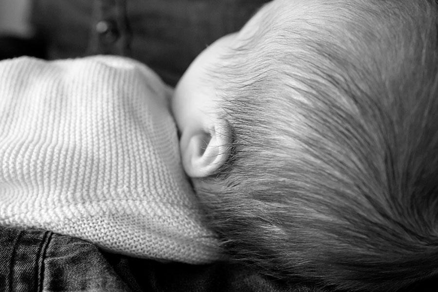 fotoreportage Delft baby