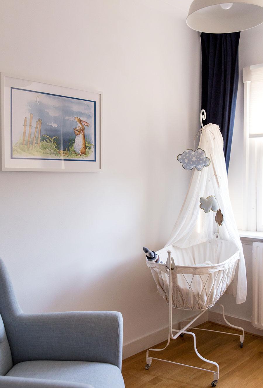 lifestyle fotoreportage newborn Delft babykamer