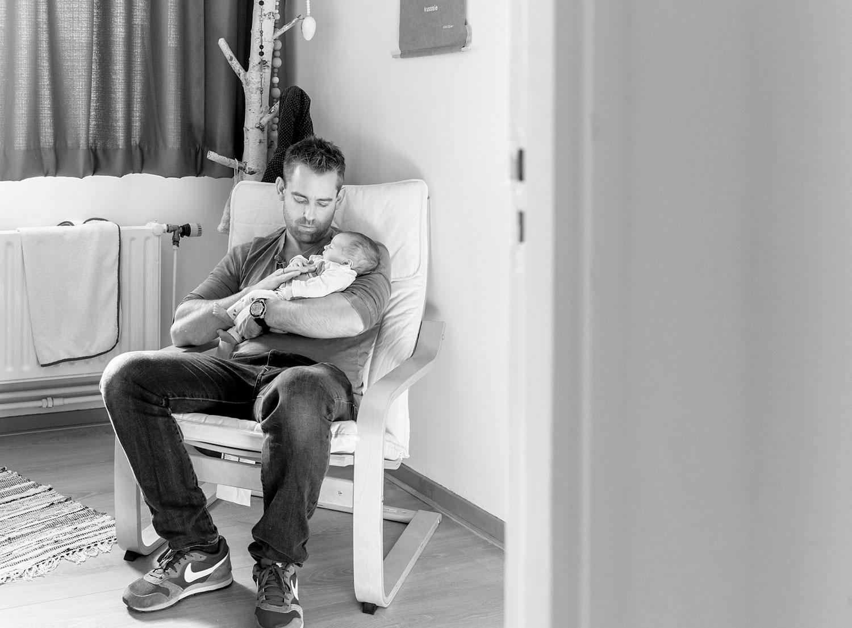 Newborn fotograaf Pijnacker: baby C