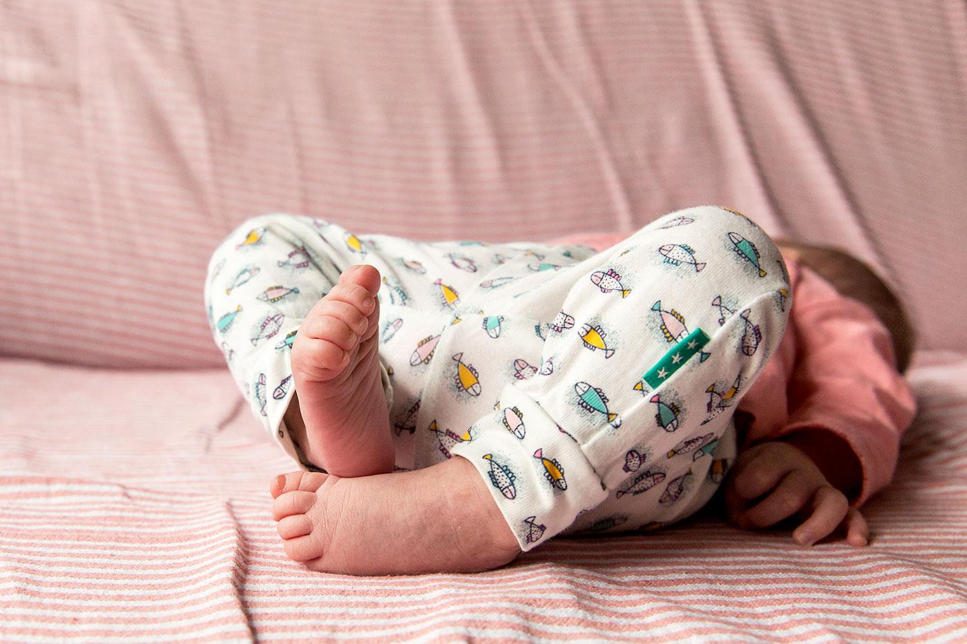 Lifestyle newbornreportage: baby H