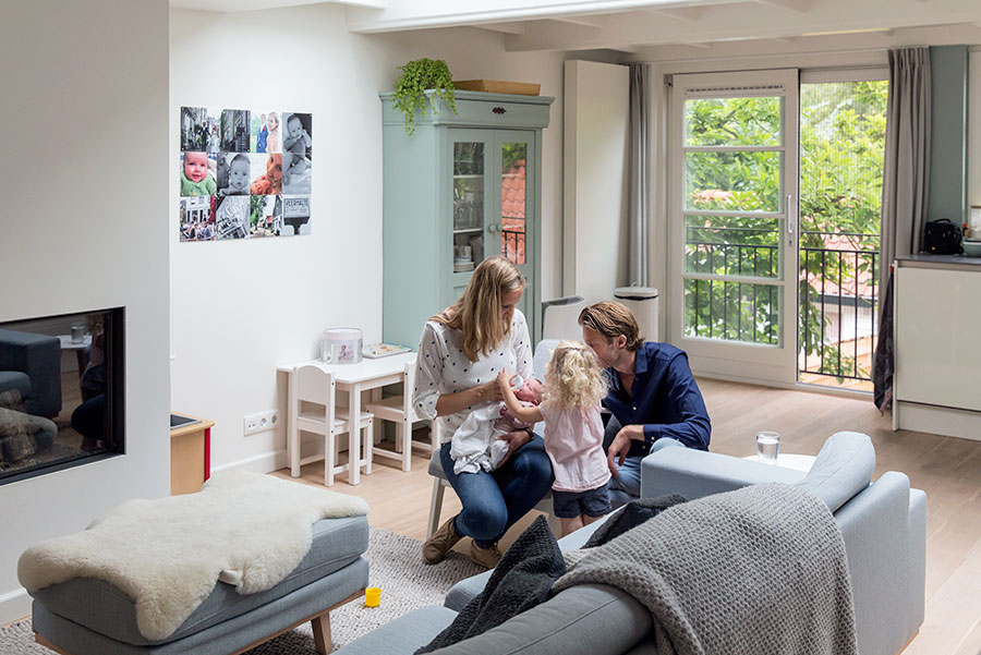 lifestyle newbornfotograaf amsterdam groepsfoto