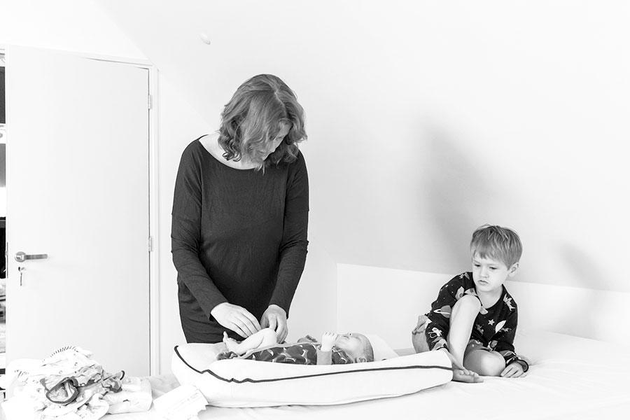 lifestyle newbornfotograaf Delft verschonen