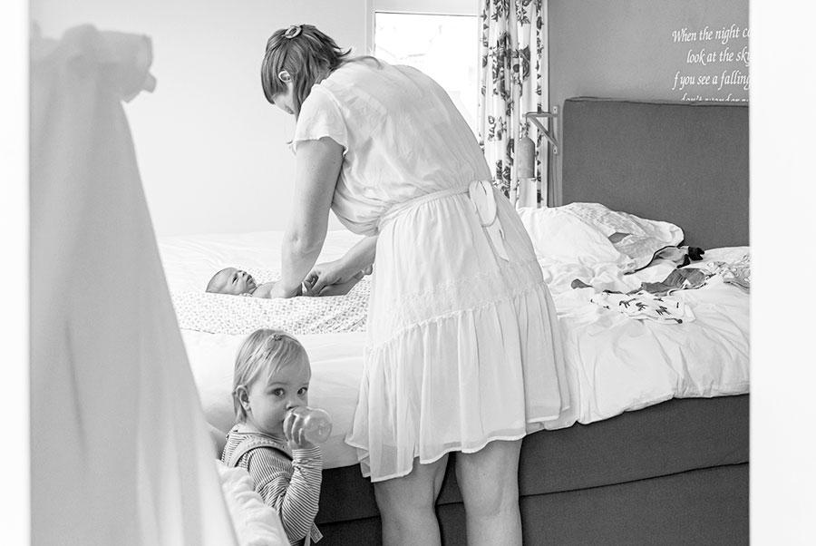 lifestyle newbornfotograaf bodegraven baby verschonen