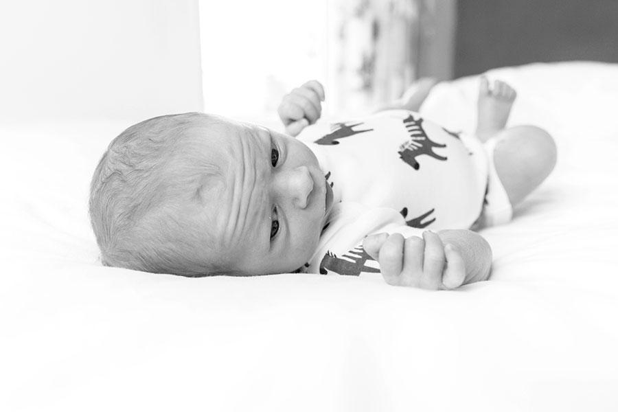 lifestyle newbornfotografie bodegraven baby