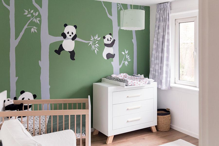 schattige babykamer