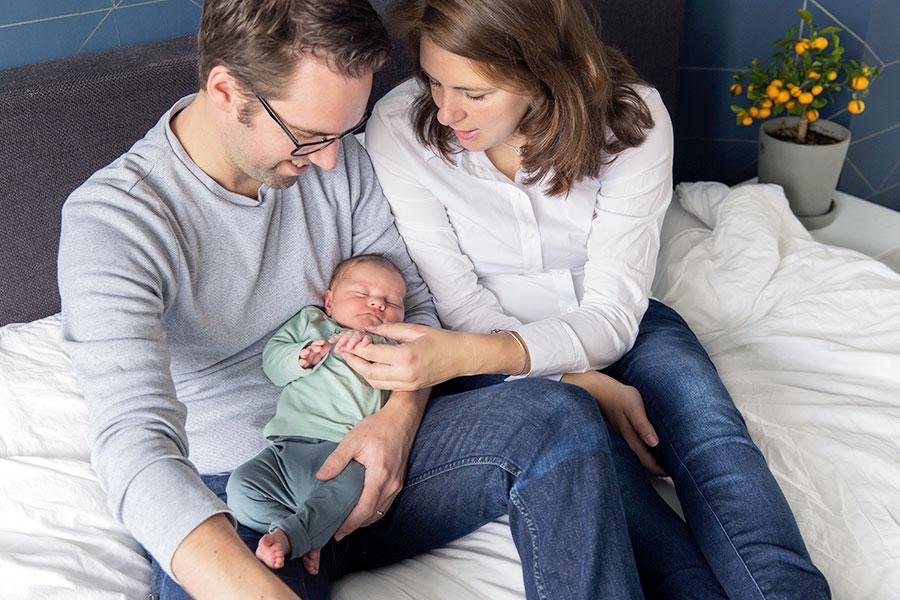 lifestyle newbornfotograaf in utrecht
