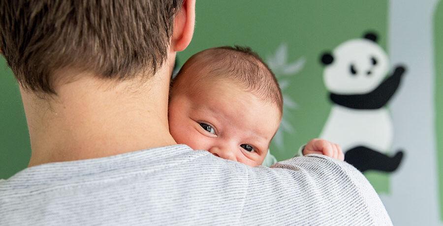 kiekeboe doet de baby