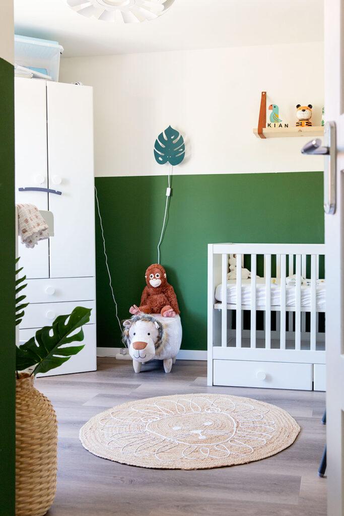lifestyle newbornshoot babykamer