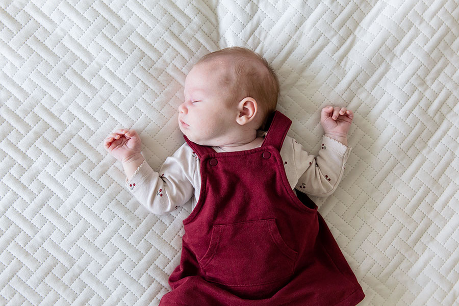 stijlvolle newbornreportage in Schiedam